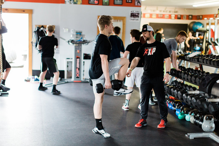 High School Athlete Training