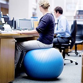 Another Issue That Occurs With Physio Balls As Desk Chairs Is The Fact Individuals May Not Be Maintaining Great Posture While Sitting On It Throughout