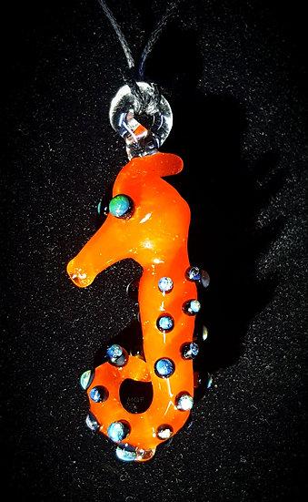 Tiny Seahorse ~ Handmade Glass Bead