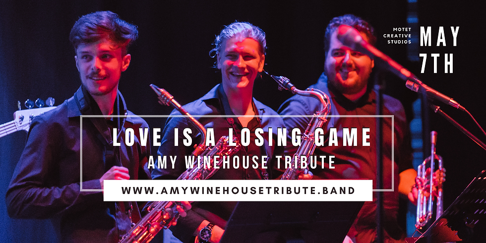AMY WINEHOUSE TRIBUTE - LOVE IS A LOSING GAME CONCERT