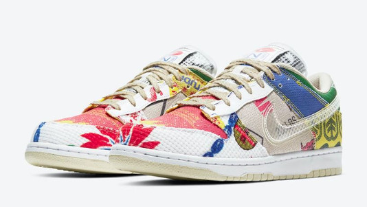"""NIKE DUNK LOW """"CITY MARKET"""" IS A MUST TO COP"""