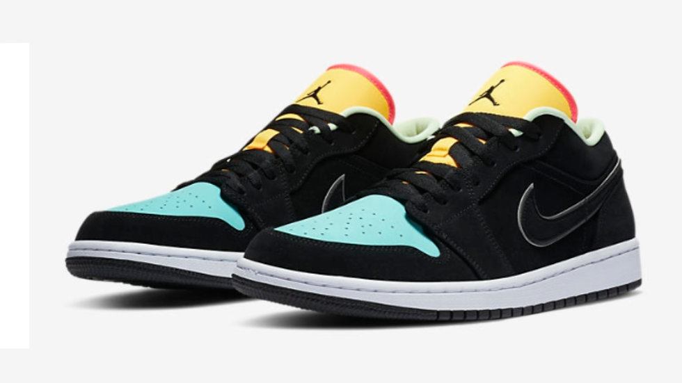 "Jordan 1 Low ""Aurora Green"""