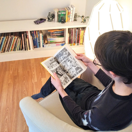 Mon fils n'est jamais allé à l'école...Oui, il sait lire!
