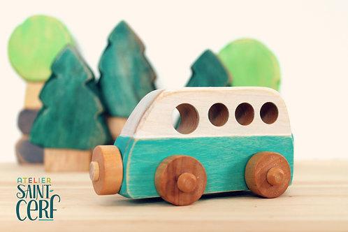 Auto en bois jouet