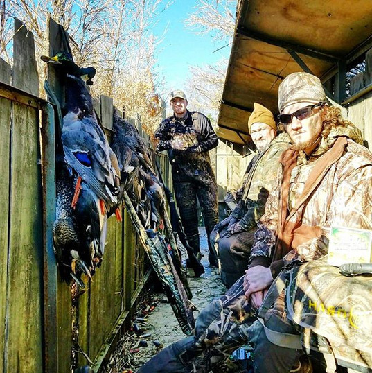 Good people and great hunts!! #limits
