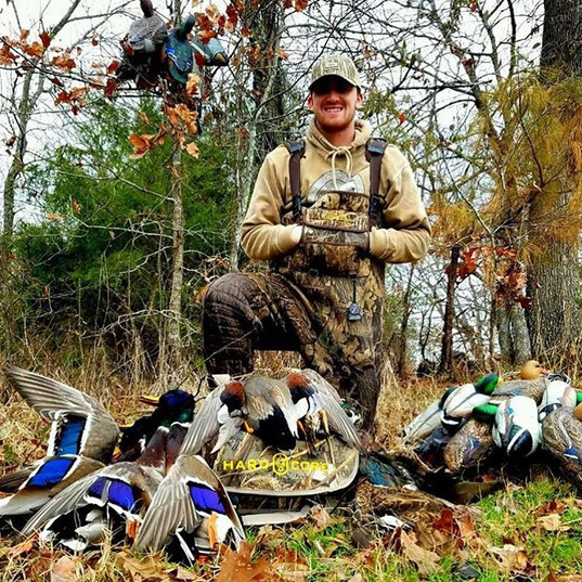 Hard to beat a hunt with Mallard Drakes!