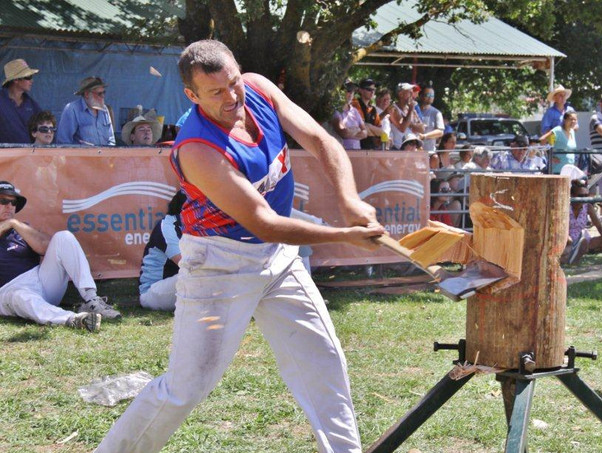 Woodchop Competition