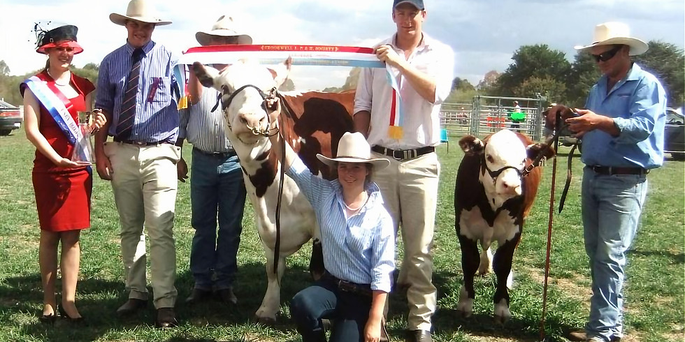 Crookwell A.P. & H. Show Tickets  2021