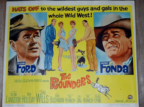 """""""The Rounders"""" 1965 Movie Poster"""