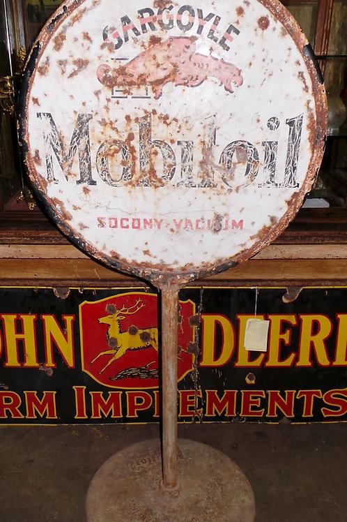 Mobil Oil Gargoile Sign