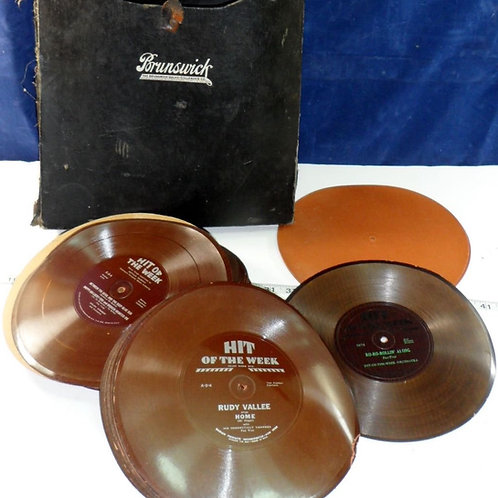 Hit Of The Week Brunswick Records With Carrying Case