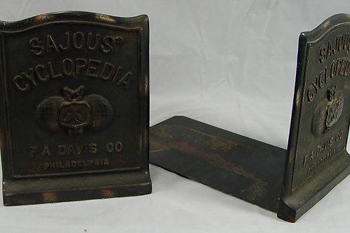 Bookends Sajous Cyclopedia F A Davis Co  Philadelphia