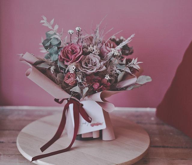 花禮 | 乾燥+永生盆花
