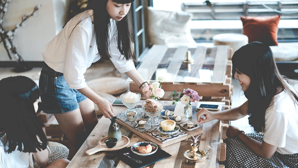 下午茶 afteroon tea