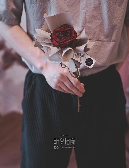 花束   單枝乾燥玫瑰