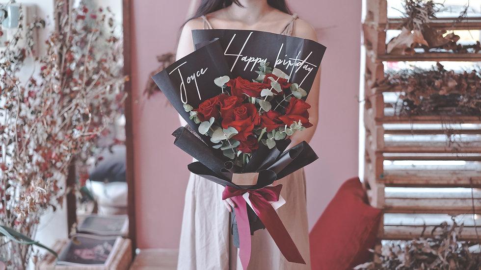 告白 | 進口鮮花玫瑰花束
