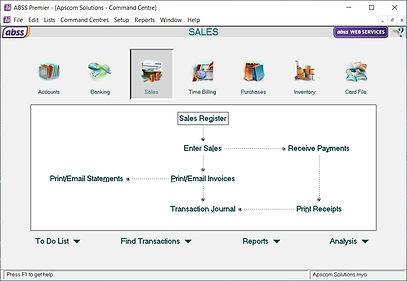 MYOB Sales