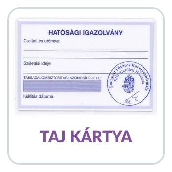 TAJ kártya igénylése külföldi számára