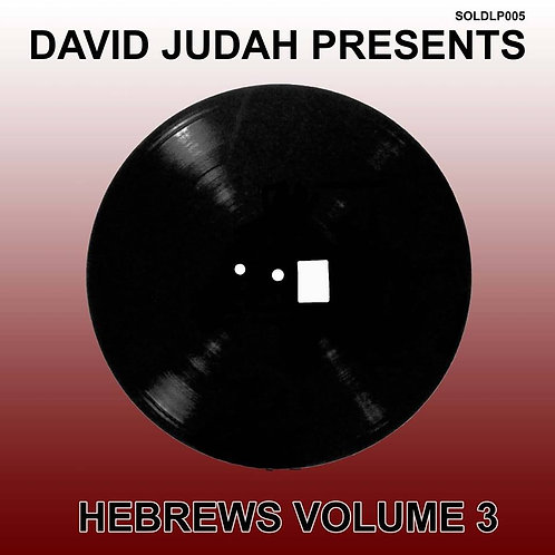 HEBREWS VOL 3 VINYl  (BLACK)