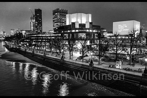 National Theatre, Southbank.