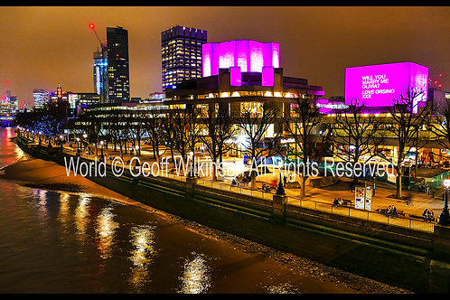 The National Theatre, Southbank.