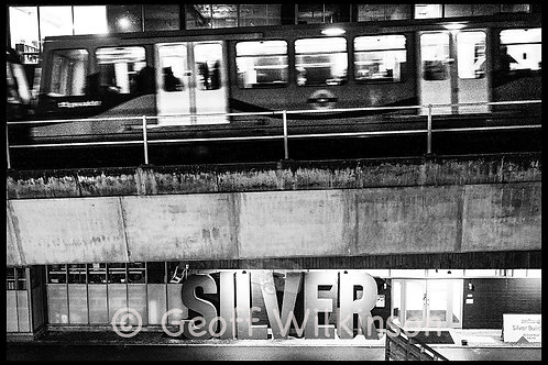 DLR at Silvertown, E16.