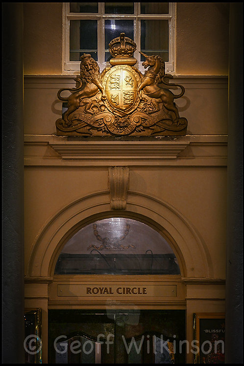 Royal Circle Entrance Her Majesty's Theatre, Charles 11  Street,