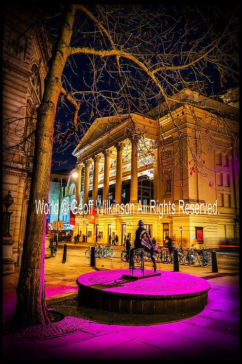 The Royal Opera House, London.