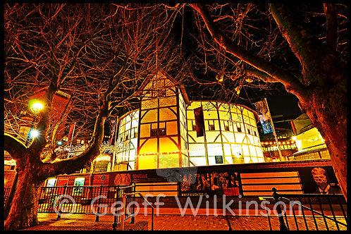 The Globe Theatre (1), London.