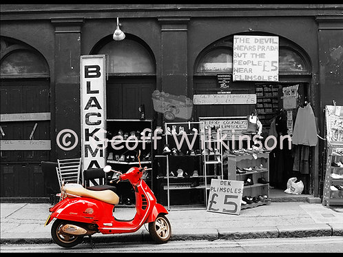 Red Scooter, Buxton Street E1