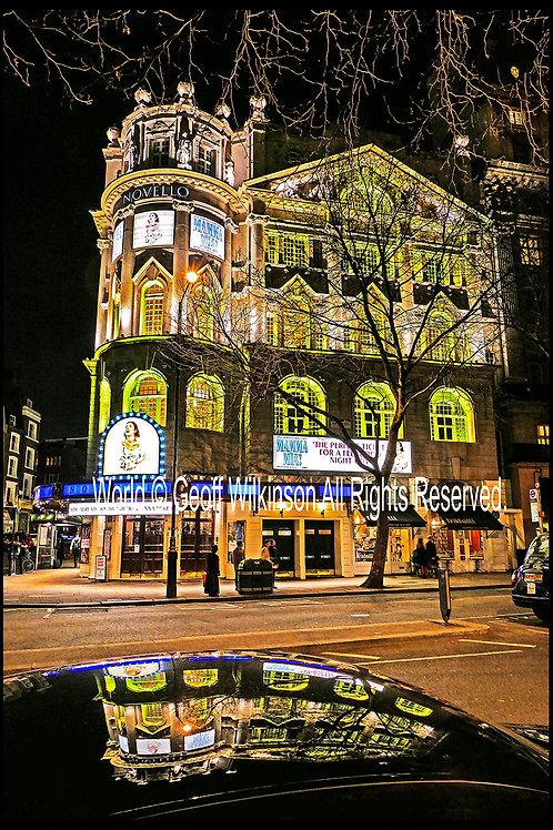 Novello Theatre, London.