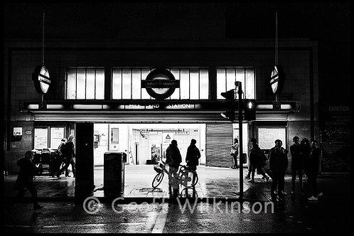 Mile End Station.