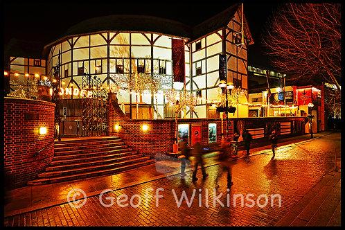 The Globe Theatre (2), London.