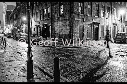 Junction of Wilkes Street and Princelet Street