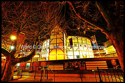 The Globe Theatre (1), London.