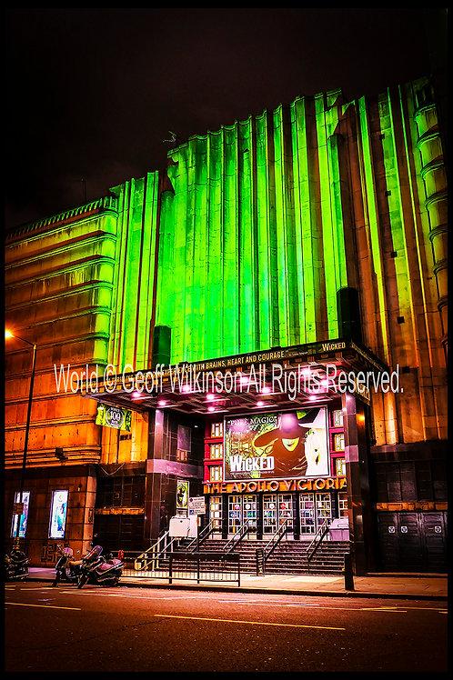 Apollo Theatre, London.