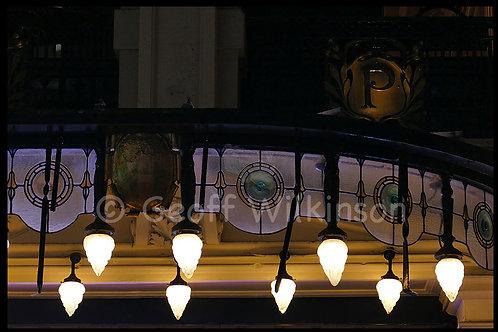 Lights outside London Palladium, Argyll Street.