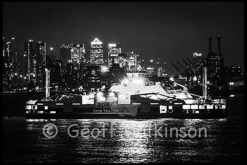 The Vera Lynn Ferry, Woolwich Ferry, Woolwich.