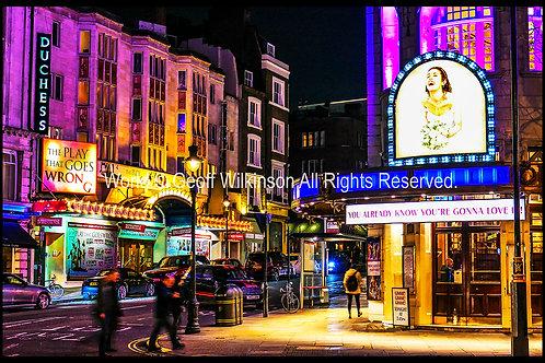 Novello and Duchess Theatre, London.