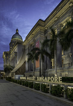 CPPL construction site management, National Art Gallery Singapore