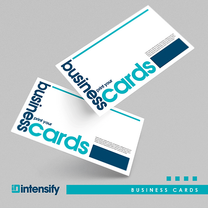 Business Cards Matte Lamination