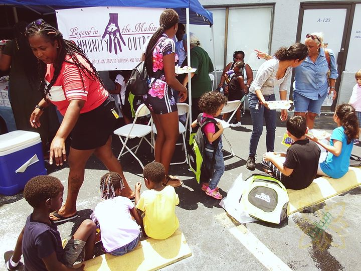 Legend In The Making Community Outreach,
