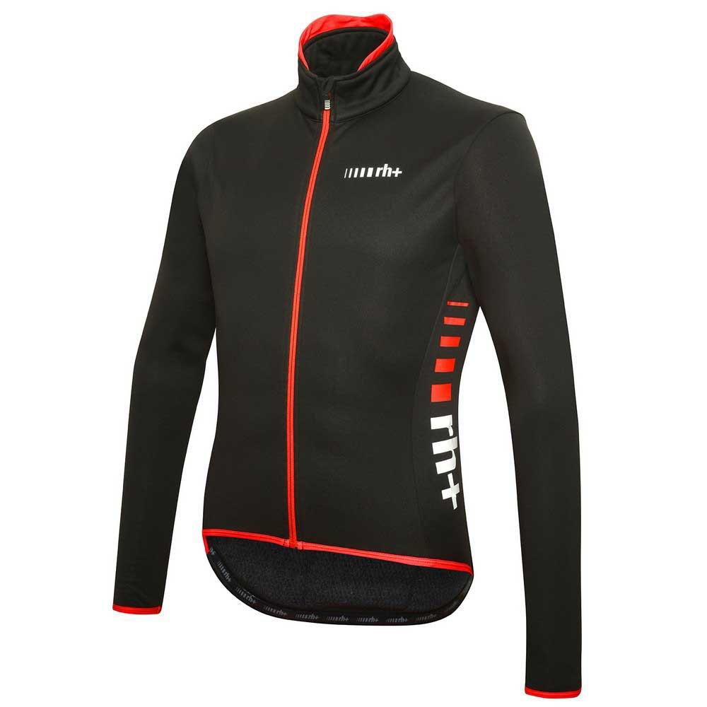 RH+ logo jacket black-red