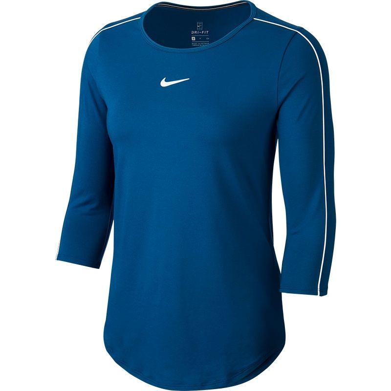 Nike dry top 3-4 mouw