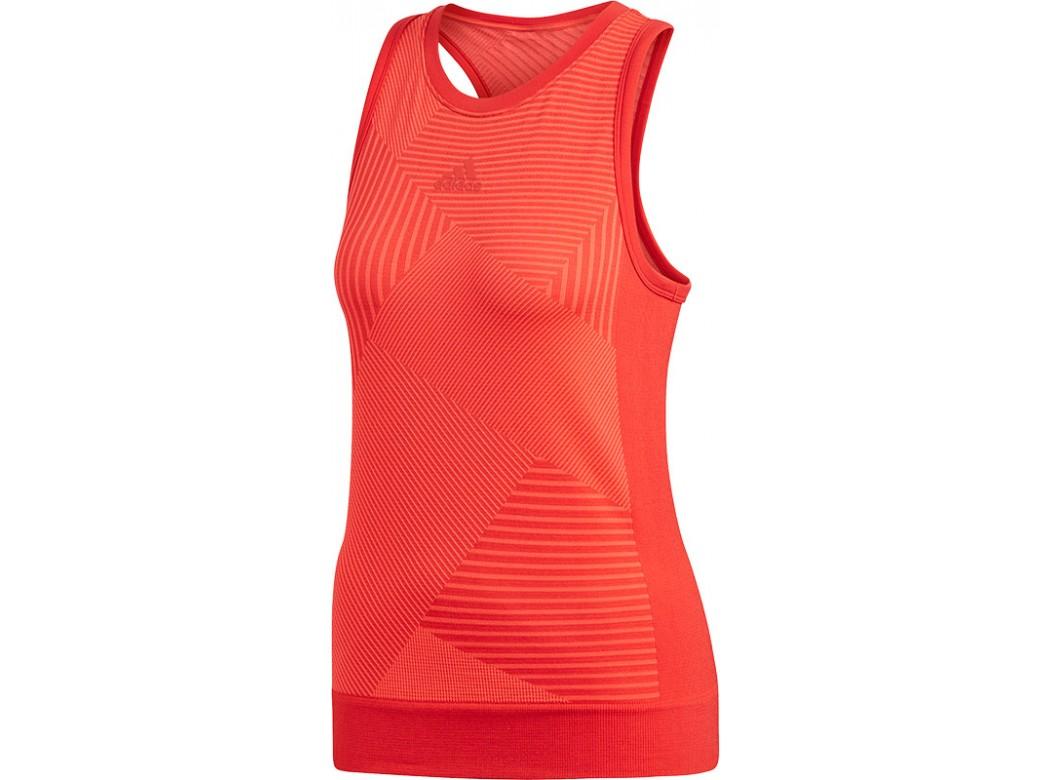 Adidas match code tank red
