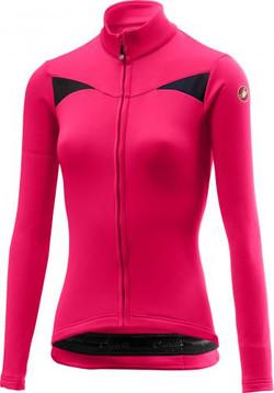 Castelli Sinergia jersey pink fluo