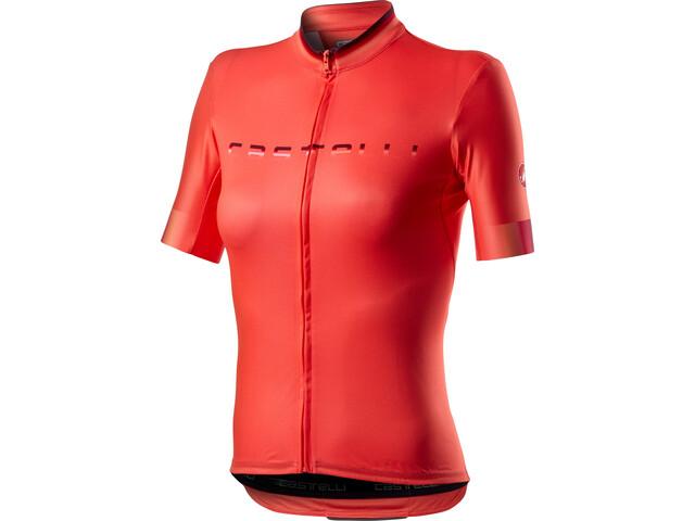 Castelli Gradient jersey brilliant pink.