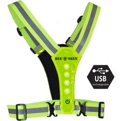 Be seen led harnas yellow