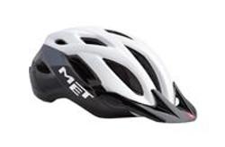 Met helm CROSSOVER XL wit-zwart