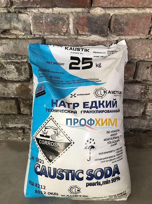 Сода каустическая / Натрий едкий гранулированный Волгоград